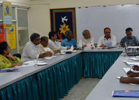 Workshop held on preparing draft trams of reference for conducting advocacy