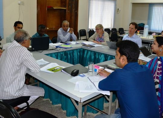Meeting held between BILS and FNV Delegates
