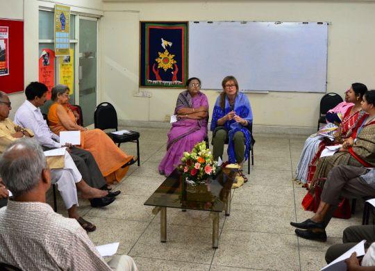 CCC International Coordinator Ineke Zeldenrust visited BILS Office