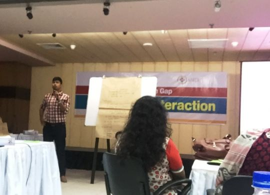 BILS participated in MRDI workshop on Media-NGO relationship
