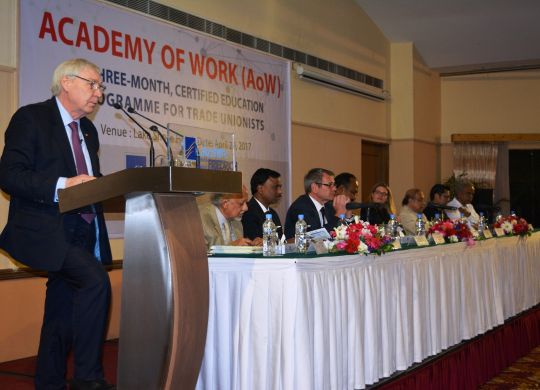 FES Bangladesh, BRAC University and BILSlaunch academic programme for trade unionists