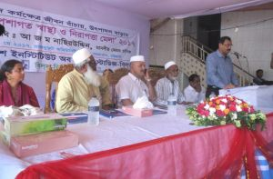 City mayor A J M Nasir Uddin inaugurated the fair