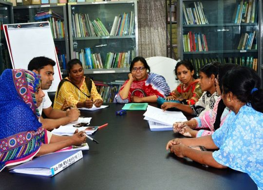 Planning meeting for observing International Domestic Workers' Day 2017