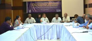 Research report sharing meeting held on Linkages of Trade and Labour Standards in Global Supply Chains in Bangladesh