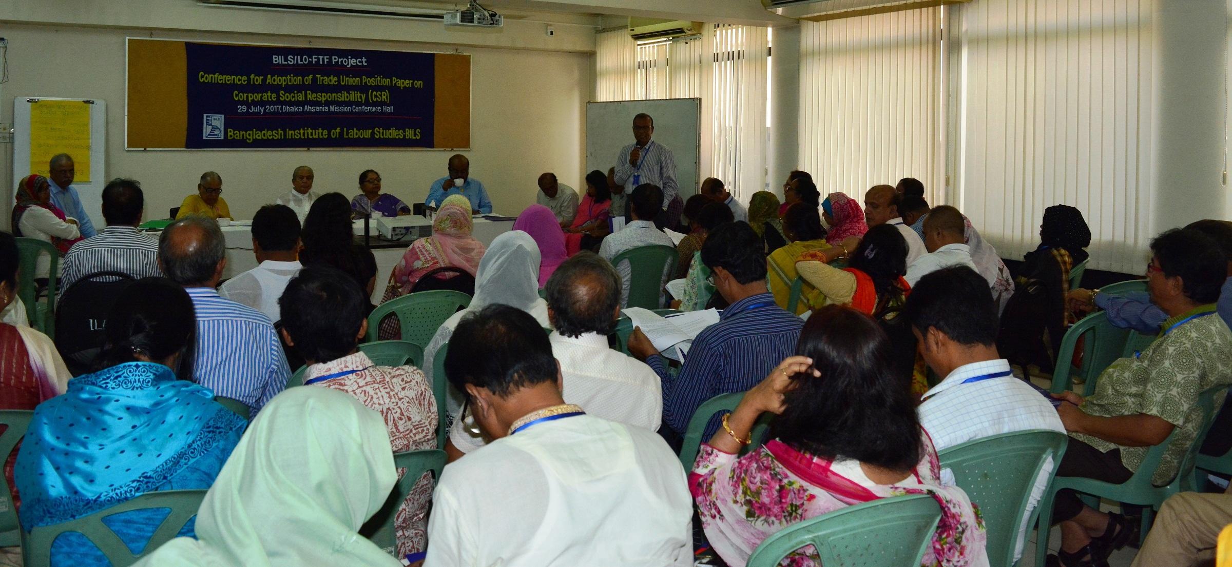 csr in bangladesh
