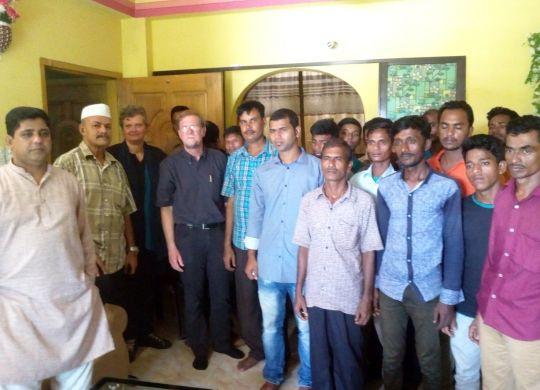 LO-FTF Officials visit Sitakunda