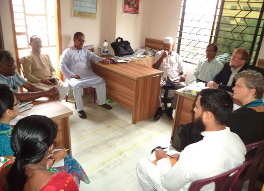 Meeting with LO-FTF Officials at Chittagong BILS Office
