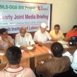Media Briefing in Chittagong