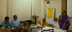 BILS Chairman Habibur Rahman Shiraz & Secretary General Nazrul Islam Khan at the training