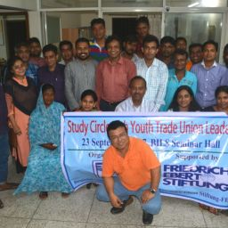 Regular thematic discussion programme for youth organisers of national federations