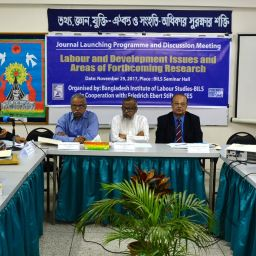 BILS organised journal launching programme and consultation meeting