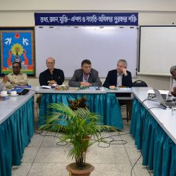 Meeting between LO-FTF Council Deligate and BILS leaders