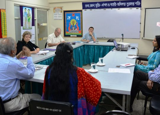 Evaluation meeting with 3F representatives