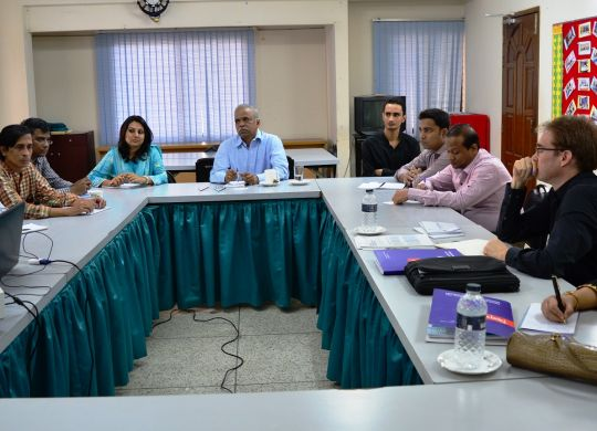 Meeting with ILO Team on work in Freedom Project