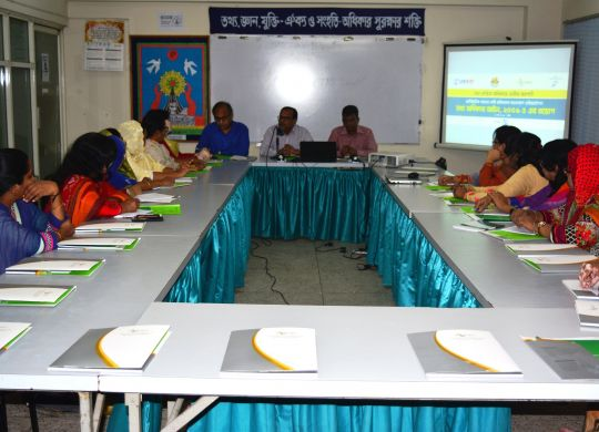 Information Commissioner of Information Commission Nepal Chandra Sarkar addressed in the orientation programme