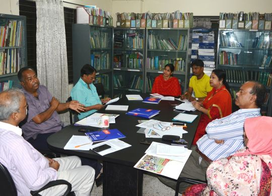 Consultation meeting on training manual development