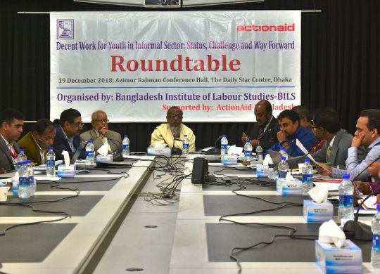 Research report dissemination on workers' rights and decent work for youth in informal sector